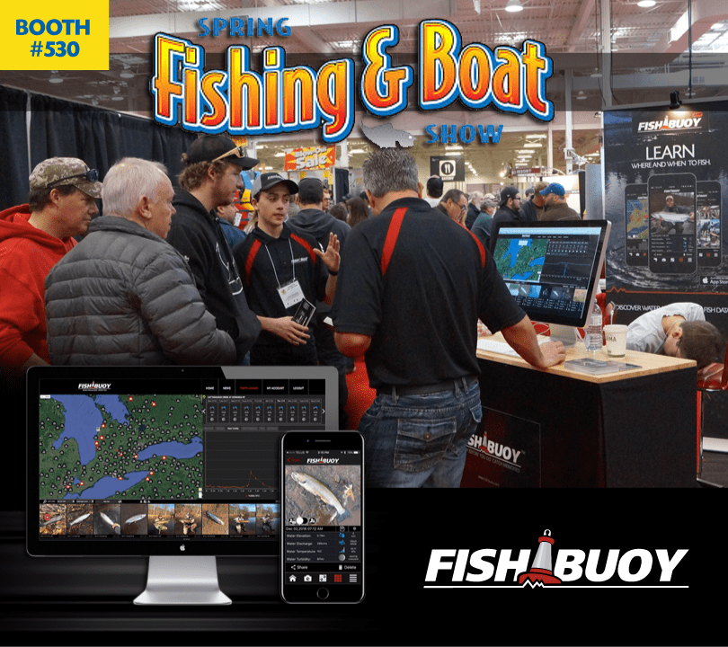 FISHBUOY Attending Spring Fishing and Boat Show, Toronto