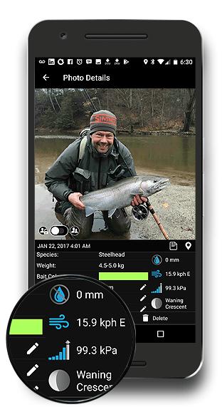FISHING FORECAST FISHBUOY APP