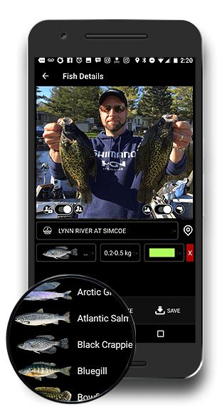 FISHBUOY Mobile App - Take Photo