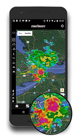 FISHING REAL-TIME WEATHER