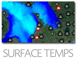 MARINEBUOY - Great Lake Marine Forecast - SURFACE TEMPERATURES