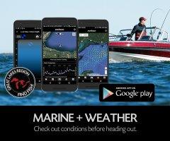 Fishing App - FISHBUOY Pro now includes marine and weather